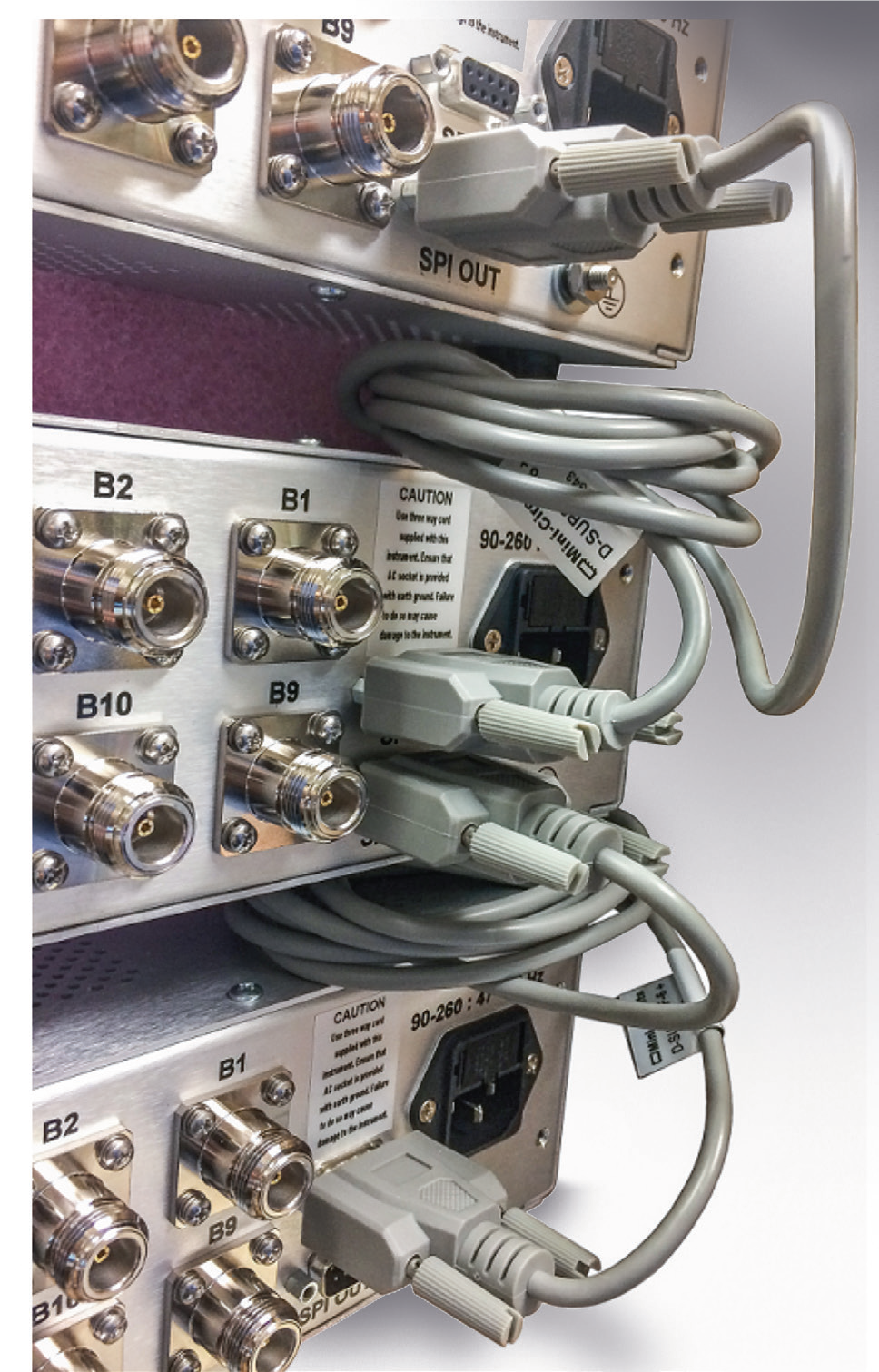 High-Order Switch Matrices Facilitate Network Infrastructure Testing
